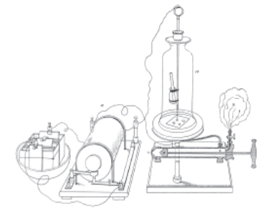 Groves sputtering apparatus