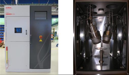 single chamber laboratory sputter device
