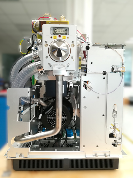 Mass Spectrometer inside view