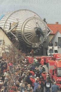 image-20KATRIN UHV vessel during transport