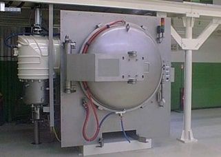 Brazing furnace with cryopump 10.000 l/s replacing an oil diffusion pump