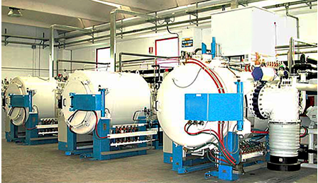 Brazing furnace with an oil diffusion pump
