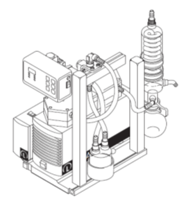 chemical resistant rotary evaporator system