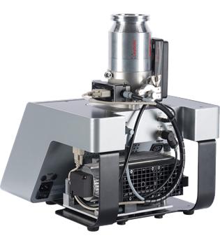 Turbomolecular pump system with diaphragm pump